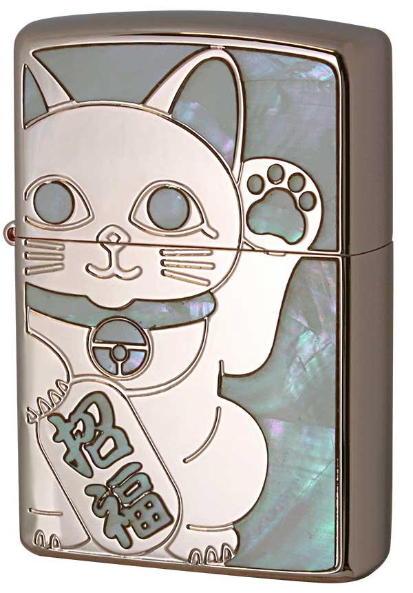 Zippo ジッポー SHELL LUCKY CAT シェル ラッキーキャット 1201S687 RPK