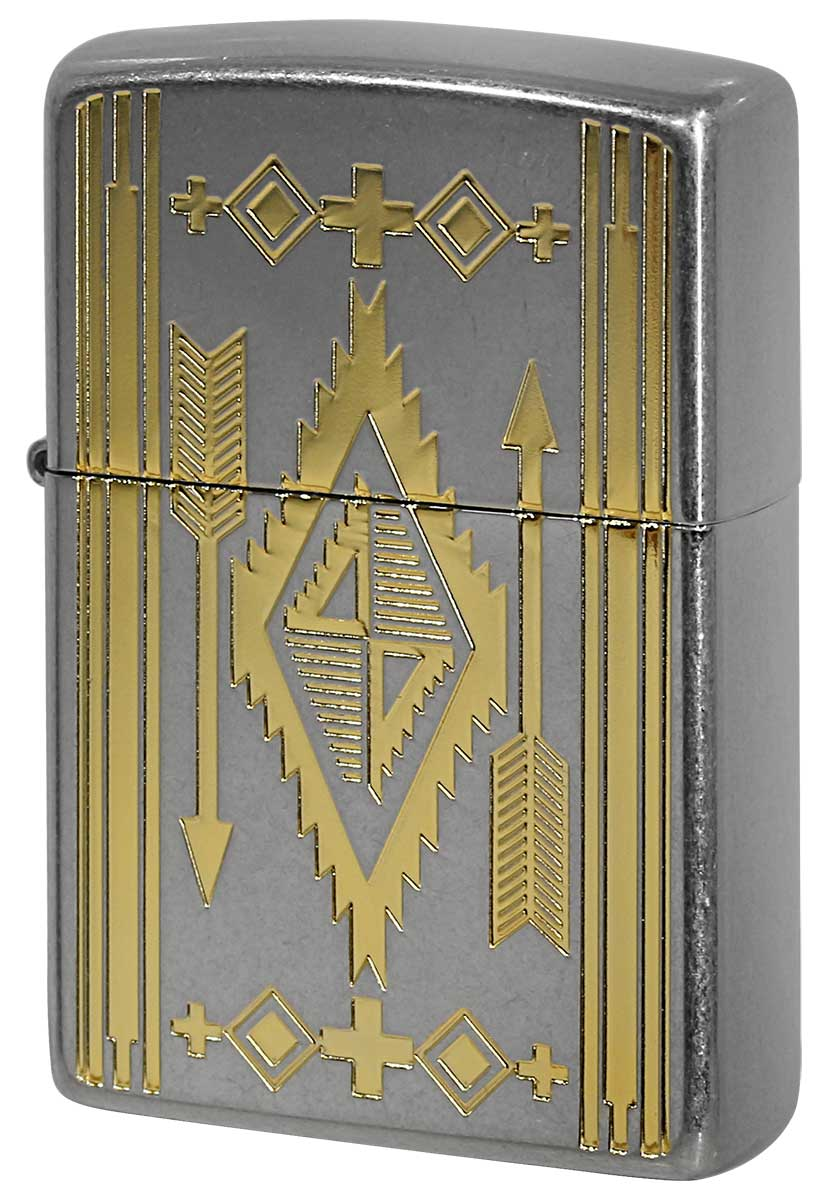 Zippo ジッポー NATIVE Design ネイティブデザイン P1NI GD 1201S736 メール便可