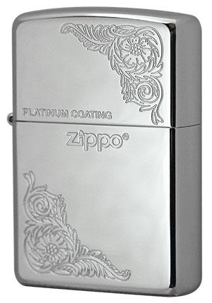 Zippo ジッポー プラチナメッキ PLM#12 メール便可