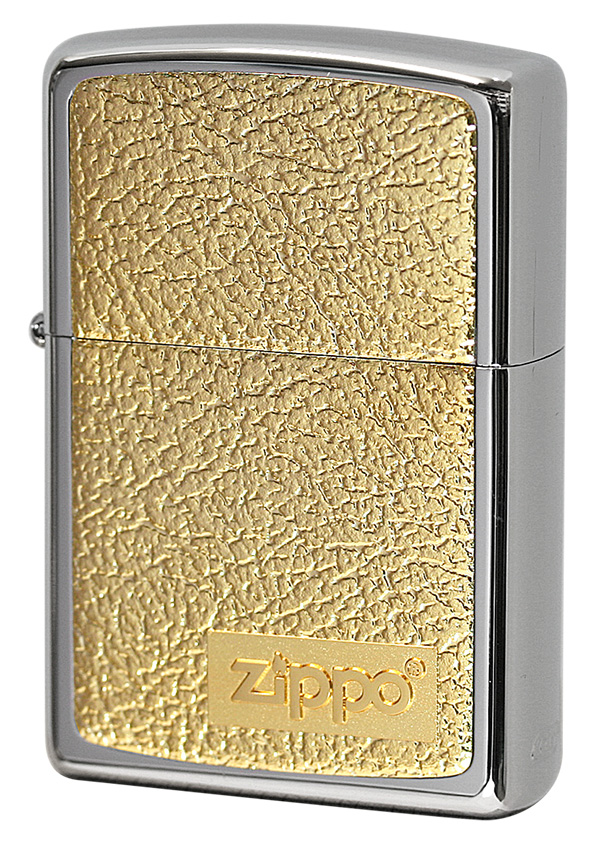 Zippo ジッポー #200 銀チタン 15-14