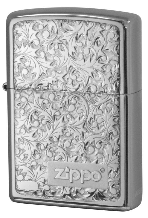 Zippo ジッポー #200銀チタン #KR-8