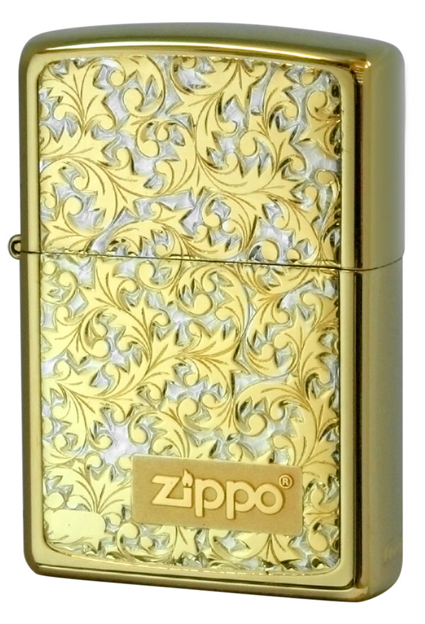 Zippo ジッポー #200金チタン #K-8