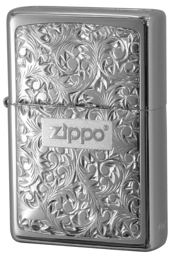 Zippo ジッポー BottomzUp #382 銀チタン #KR-2
