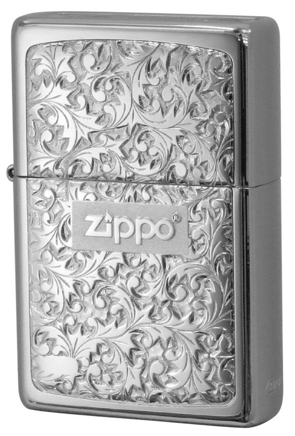 Zippo ジッポー BottomzUp #382 銀チタン #KR-7