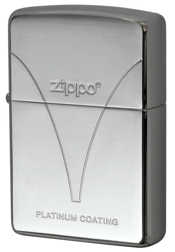 Zippo ジッポー PLATINUM COATING PZ#E メール便可