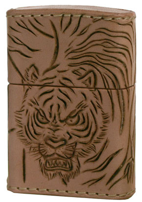 Zippo ジッポー Leather Works CHAOS LWC(Z)猛虎