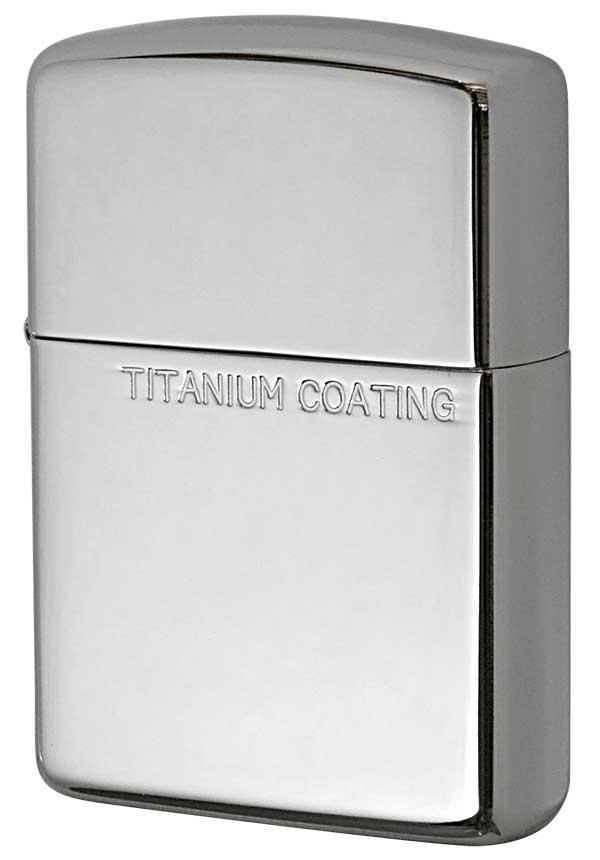 Zippo ジッポー Titanium Coating チタニュームコーティング 162TC-S メール便可