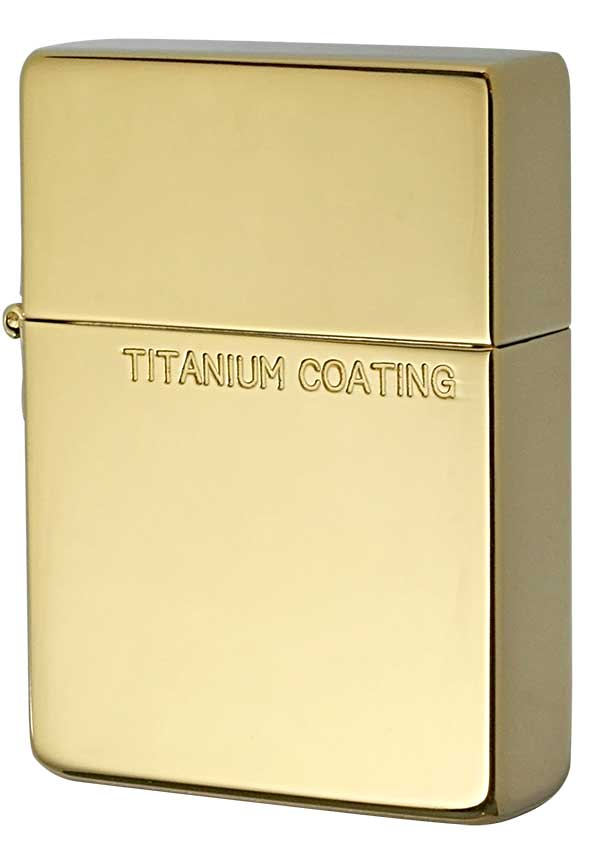 Zippo ジッポー Titanium Coating チタニュームコーティング 1935TC-G メール便可