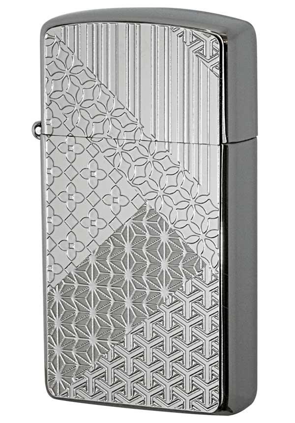 Zippo ジッポー Metal Plate 真鍮板メタルプレート 16MP-組木模様 メール便可