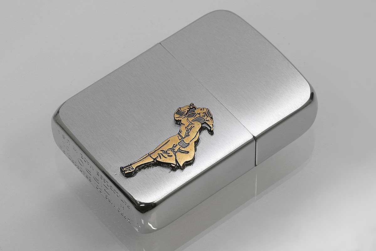 Zippo ジッポー 絶版・2001年製造 #1941-01 メタル ガール