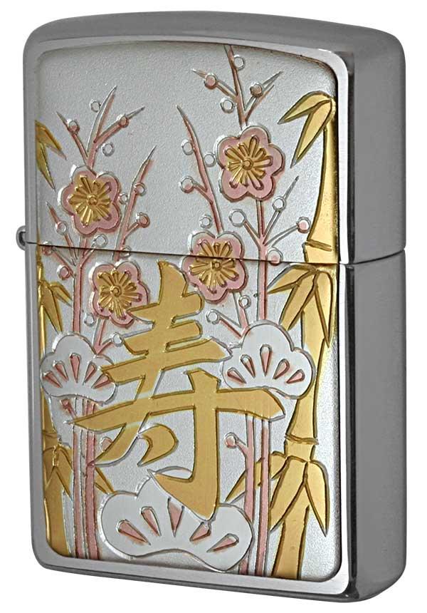 Zippo ジッポー 彫金漢字シリーズ 寿 メール便可
