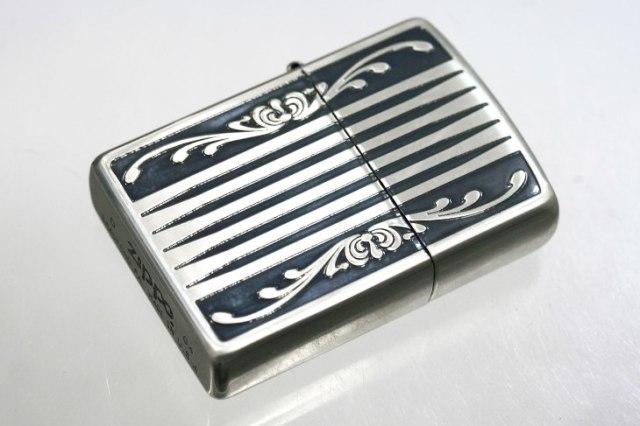 Zippo ジッポー 絶版・2004年製造 #200 ロマネスク A