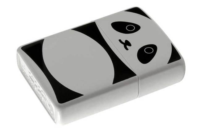 Zippo ジッポー 絶版・2012年製造 アニマル パンダ メール便可