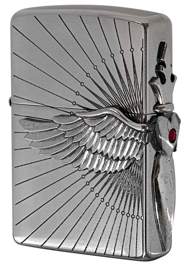 Zippo ジッポー Heart Wing Metal ハートウイングメタル 20HWR-R