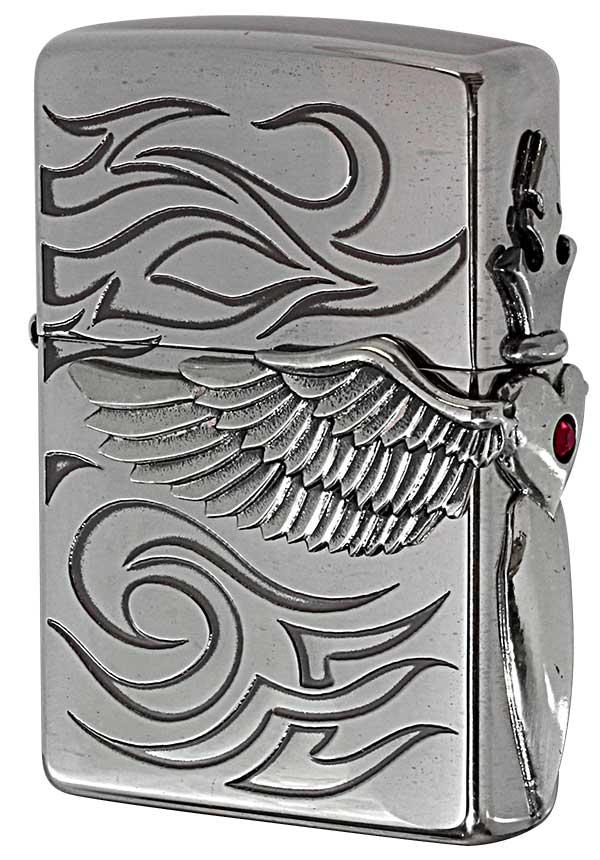 Zippo ジッポー Heart Wing Metal ハートウイングメタル 20HWT-R
