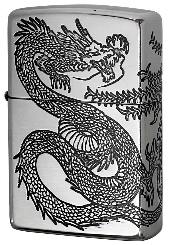 Zippo ジッポー Dragon&Phoenix 龍 鳳凰 20DH3-SV