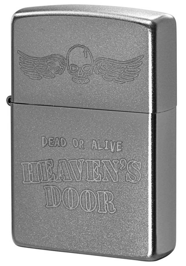 Zippo ジッポー Processing in USA HEAVEN'S DOOR Z205-402743 メール便可
