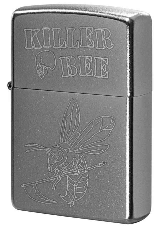 Zippo ジッポー Processing in USA KILLER BEE Z205-402744 メール便可