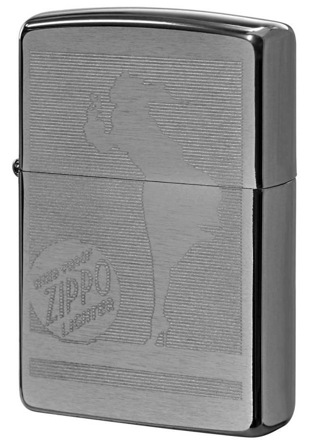 Zippo ジッポー Processing in USA 化粧箱デザイン Z200-402747 メール便可