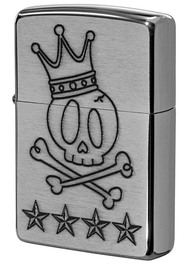 Zippo ジッポー Processing in USA Cute Skull Z200-411687 メール便可