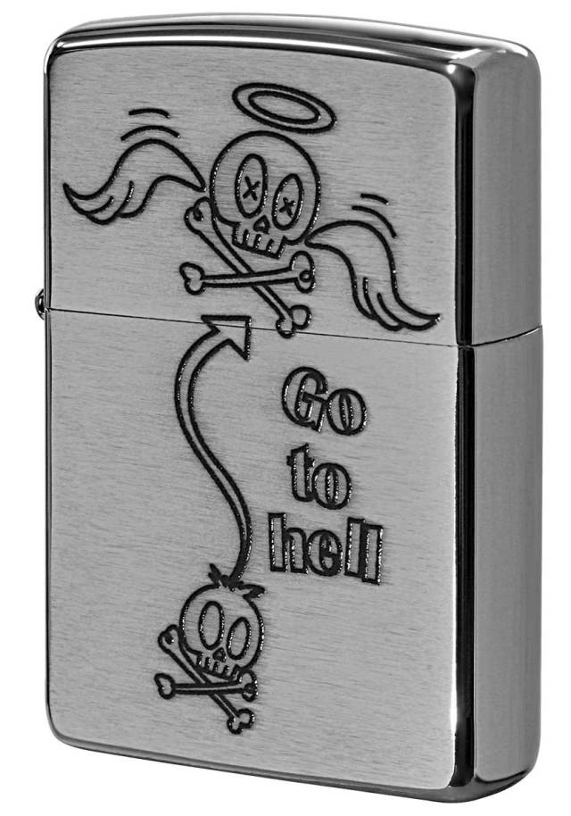 Zippo ジッポー Processing in USA Cute Skull Z200-411688 メール便可