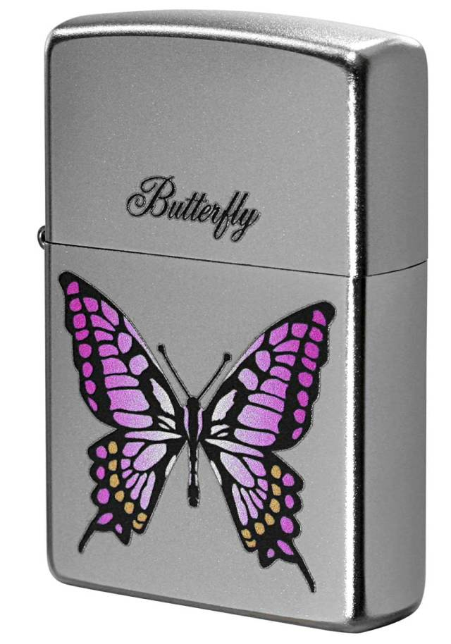 Zippo ジッポー Processing in USA Butterfly Z205-411672 メール便可