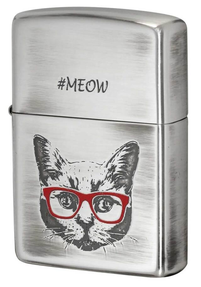 Zippo ジッポー Meow of a cat 猫の鳴き声 CAT-KC メール便可