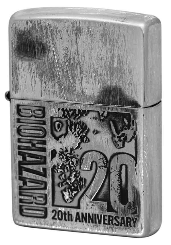 Zippo ジッポー BIOHAZARD.20th (C)20thロゴ