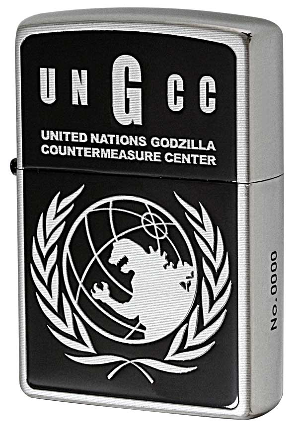 Zippo ジッポー GODZILLA ゴジラ 国連G対策センター