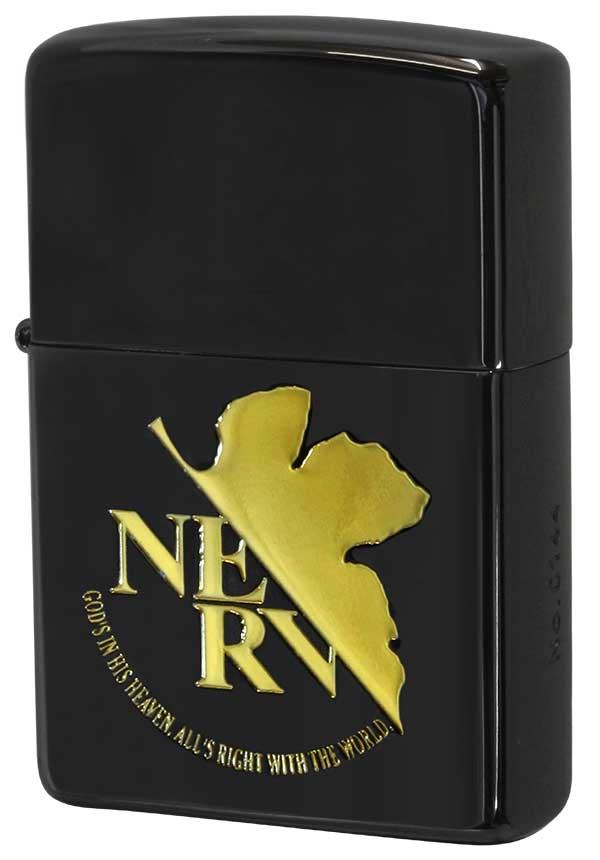 Zippo ジッポー エヴァンゲリオン NERV BLACK&GOLD