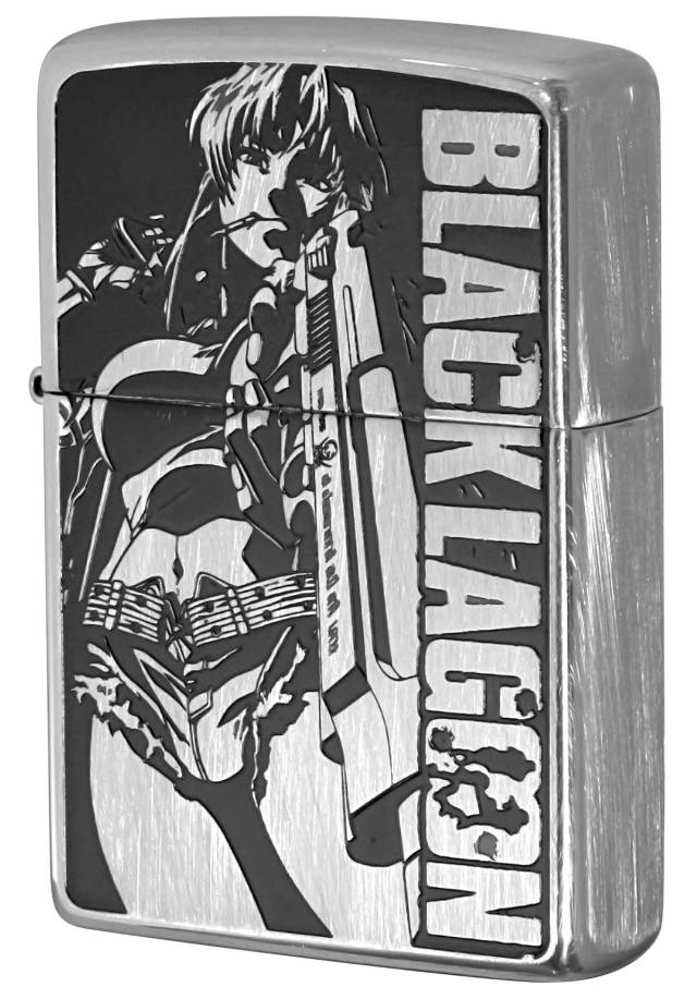 Zippo ジッポー ブラックラグーン BLACK LAGOON Ver.2 A柄 レヴィ