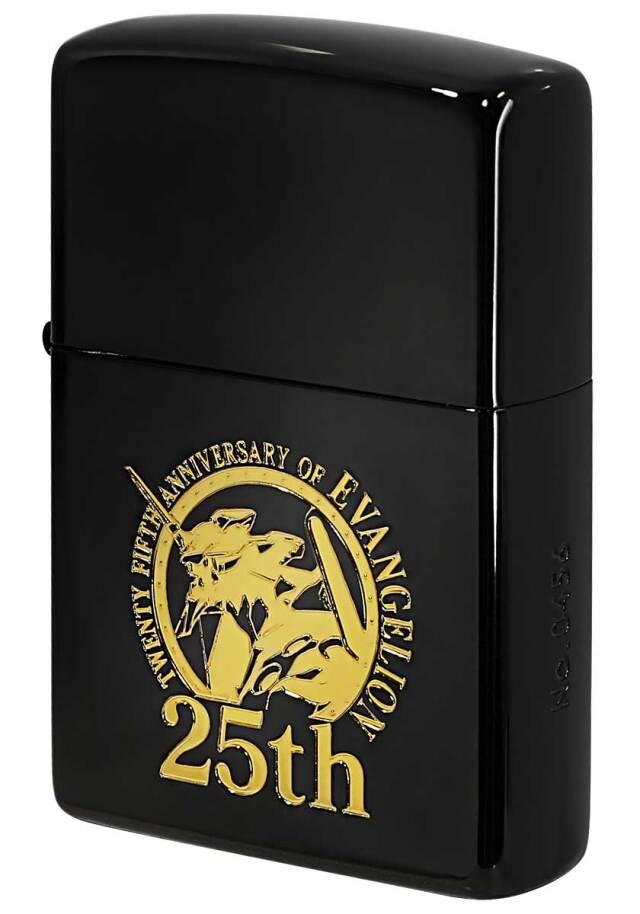 Zippo ジッポー EVANGELION 25th Anniversary エヴァンゲリオン 25周年記念 ゴールドエンブレム