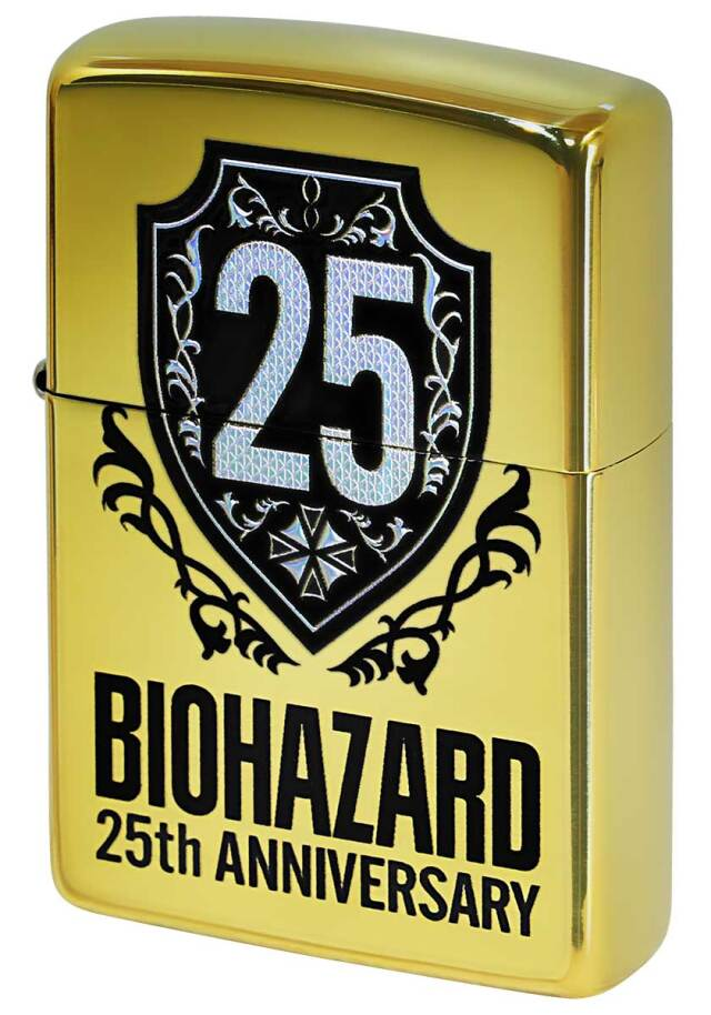 Zippo ジッポー BIOHAZARD バイオハザード 25周年 25th Anniversary