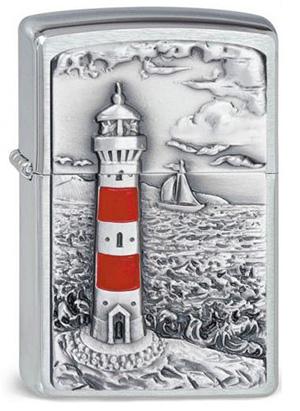 ヨーロッパ直輸入Zippo ジッポー LightHouse 2001670
