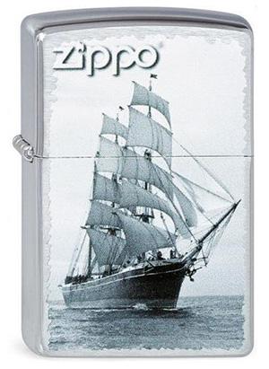 ヨーロッパ直輸入Zippo ジッポー Ship on sea 2003144