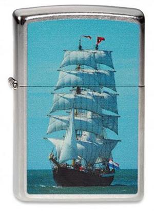 ヨーロッパ直輸入Zippo ジッポー Dutch Sails Boat 2003838 メール便可