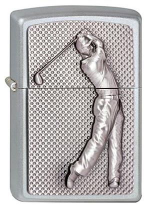 ヨーロッパ直輸入Zippo ジッポー Golfer 3D 2002824 メール便可