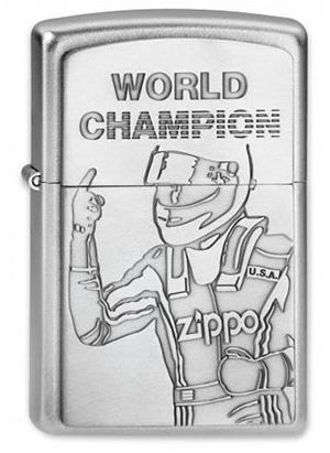 ヨーロッパ直輸入Zippo ジッポー World Champion Emblem 2002949 メール便可