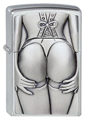 ヨーロッパ直輸入Zippo ジッポー Stocking Girl 1300116 メール便可