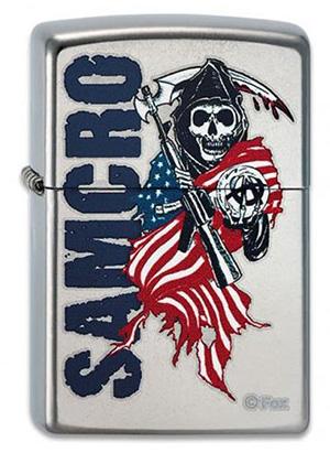 ヨーロッパ直輸入Zippo ジッポー Sons of Anarchy 2003531