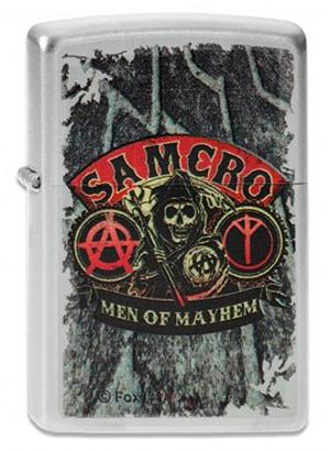 ヨーロッパ直輸入Zippo ジッポー Sons of Anarchy 2003943 メール便可