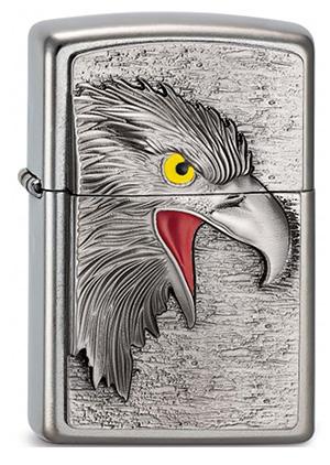 ヨーロッパ直輸入Zippo ジッポー Eagle Head Emblem 2003542