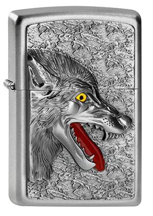 ヨーロッパ直輸入Zippo ジッポー Wolf 2013 Emblem 2003971