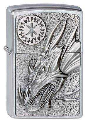ヨーロッパ直輸入Zippo ジッポー Dragon With Amulet 2002726