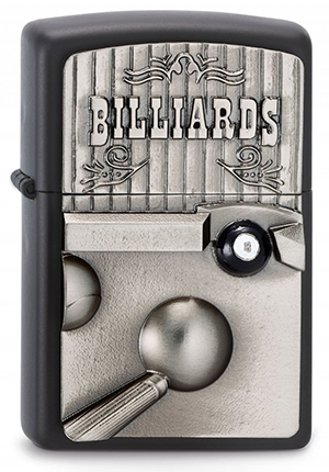 ヨーロッパ直輸入Zippo ジッポー Billiard 2003556