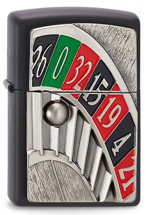 ヨーロッパ直輸入Zippo ジッポー Roulette 2003560