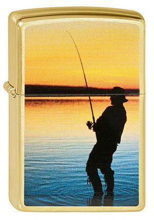 ヨーロッパ直輸入Zippo ジッポー Fisherman 2003157