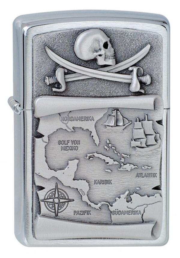 ヨーロッパ直輸入Zippo ジッポー Pirates 1300088 メール便可
