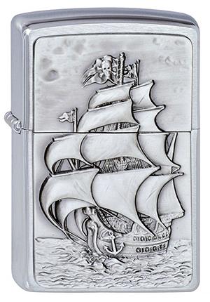 ヨーロッパ直輸入Zippo ジッポー Pirate's Ship 1300154