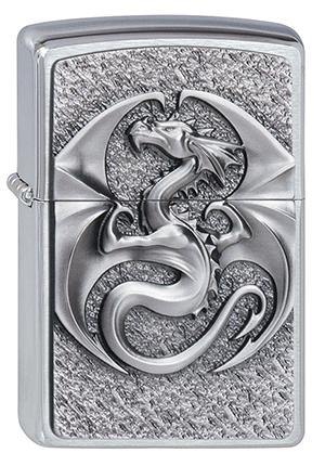ヨーロッパ直輸入Zippo ジッポー Dragon 3D 2002545